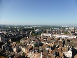 548. Estrasburgo. Catedral. Subida a la torre