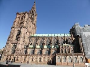 552. Estrasburgo. Catedral. Fachada sur