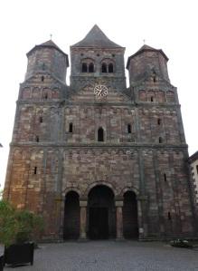 598. Mamoutier. Iglesia abacial