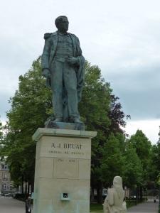 706. Colmar. Estatua del almirante Bruat de Bartholdi