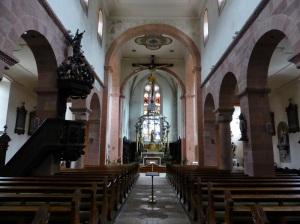 726. Lautenbach. San Miguel. Interior