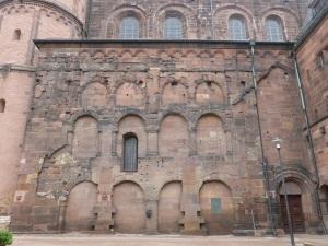 Muro sur cerca de la cabecera este