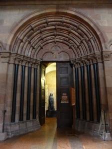 Poratda capilla de San Gotardo