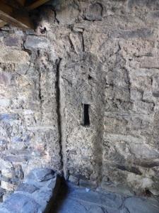 128. Canillo. Sant Joan de Caselles. antigua puerta de acceso al campanario