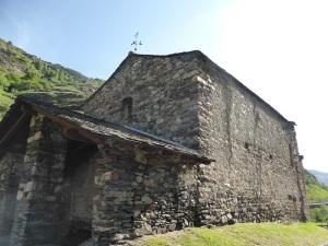 137. Canillo. Sant Joan de Caselles. Desde el noroeste