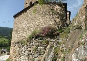 153. Canillo. Sant Serni. Cabecera con restos del ébside primitivo