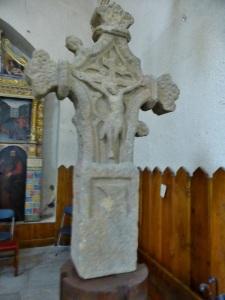 157. Canillo. Sant Serni. Cruz gótica de Carlomagno (antes en el camino de Prats a Meritxell).