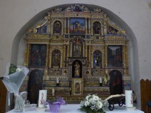 158. Canillo. Sant Serni. Retablo de Sant Serni (XVII)