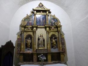161. Canillo. Sant Serni. Retablo barroco