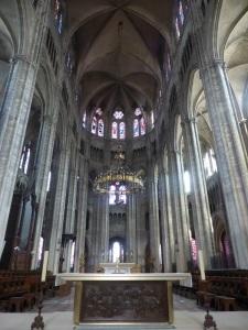 028. Bourges. Catedral. Presbiterio