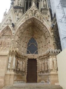 133. Reims. Catedral. Portada norte de la fachada oeste