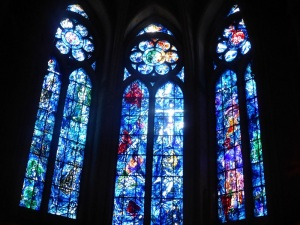 158. Reims. Catedral. Vidrieras marc Chagall
