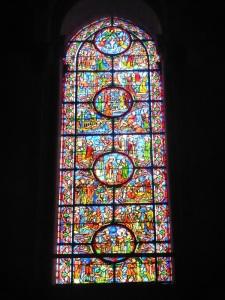 185. Reims. St-Remi. Interior hacia los pies