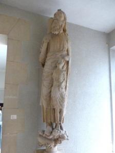 223. Reims. Palacio del Tau. Abraham procedente del pórtico de la catedral