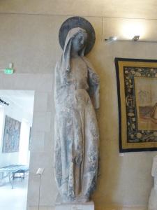 224. Reims. Palacio del Tau. La Magdalena procedente de la fachada de la catedral