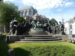 253. Gante. Monumento a los hermanos Van Eyck