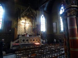 316. Brujas. Capilla de la Santa Sangre. San Basilio