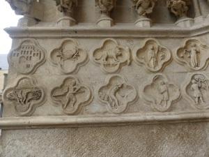 392. Amiens. Catedral. Portal norte de la fachada oeste