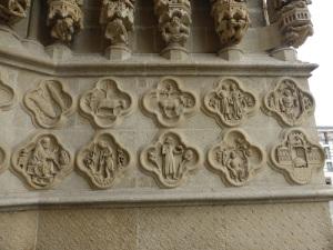 393. Amiens. Catedral. Portal norte de la fachada oeste