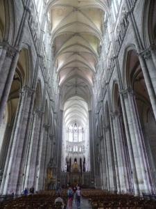 397. Amiens. Catedral. Interior