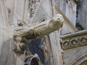 485. Laon. Catedral. Gárgola