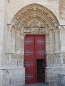 506. Sens. Catedral. Portada sur