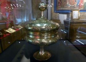 534. Sens. Museo-tesoro del palacio synodal. Santa Caliz (2ª mitad del XII)