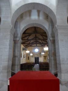 623. Germigny-des-Prés. Nave hacia los pies