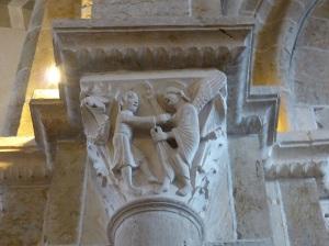 P1150377. Interior. Lucha de Jacob con el ángel