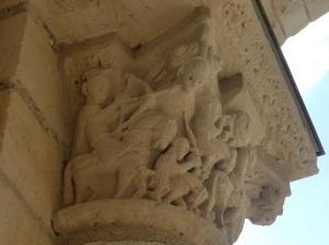 P1150987. el caballero blanco con su arco