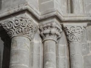 Capiteles decoración vegetal 2