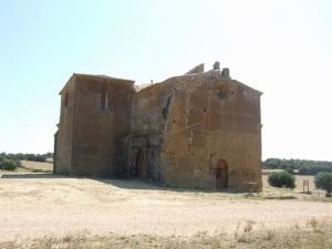 San Miguel de Foces. Desde el NW
