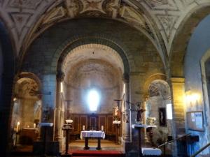122. San Pedro de Villanueva. Interior. Cabecera