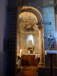 126. San Pedro de Villanueva. Interior. Ábside norte