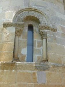 Ábside central. ventana