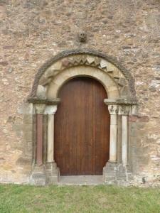 136. San Esteban de Aramil. Portada oeste