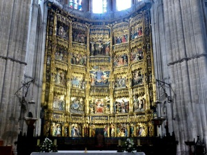 266. Catedral. Altar Mayor. Retablo