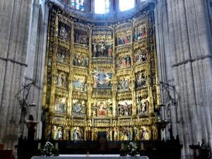 266. Catedral. Altar Mayor. Retablo