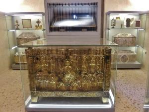 273. Catedral. Cámara Santa. Arca de las reliquias