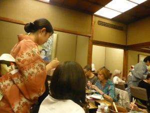017. Kyoto. Cena