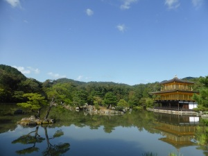 042. Kyoto. Templo de Kinkaku-ji. Pabellón dorado
