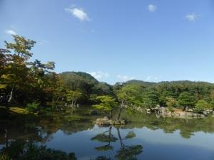 043. Kyoto. Templo de Kinkaku-ji. Pabellón dorado