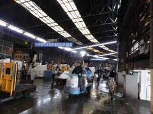 1010. Tokio. Mercado de pescado de Tsukiji