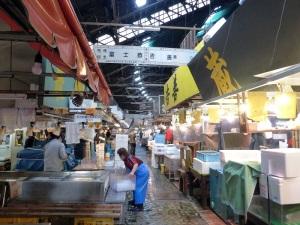 1015. Tokio. Mercado de pescado de Tsukiji
