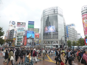 1048. Tokio. Cruce de Shibuya
