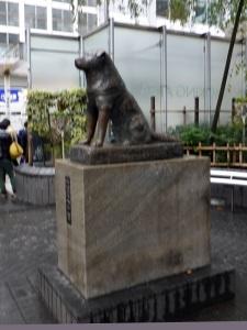 1051. Tokio. Cruce de Shibuya. Plaza de Hachiko
