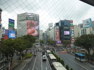 1067. Tokio. Cruce de Shibuya