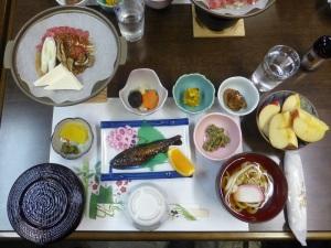 350. Shirakawago. Comida