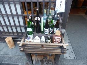 401. Takayama. Calle Sanmachi-suji. Destilería de sake