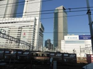 497. Tren de Takayama a Hakone. Nagoya